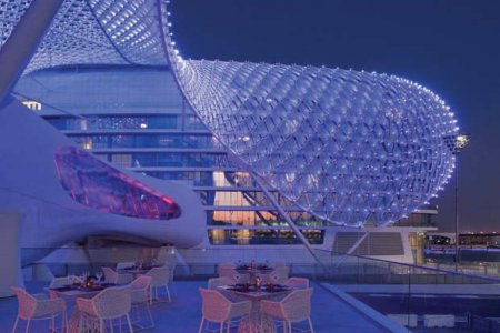 7 интересных фактов об отеле «Yas Viceroy Abu Dhabi» , Абу Даби, ОАЭ