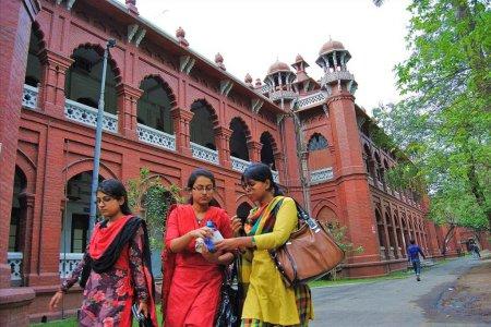 Здание университета Дакки Curzon Hall