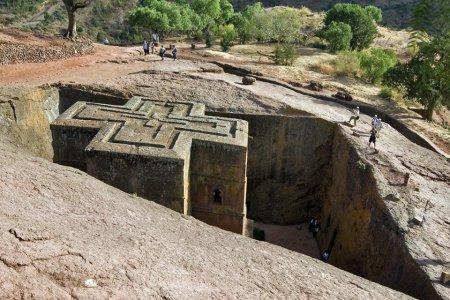 Скальный храмовый комплекс Лалибелы