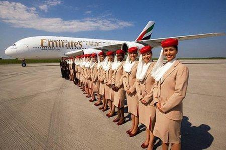Emirates выполнили рекордный полет