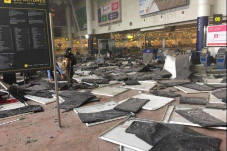 Аэропорт в Брюсселе все еще закрыт