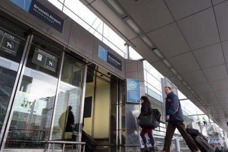Аэропорт в Брюсселе все еще не работает