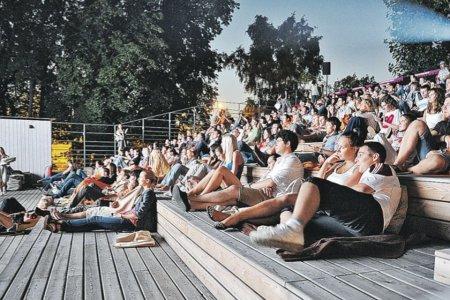 Через месяц в столице появятся кинотеатры под открытым небом